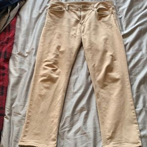 Banana Republic Traveler Pants Slim Fit Khaki